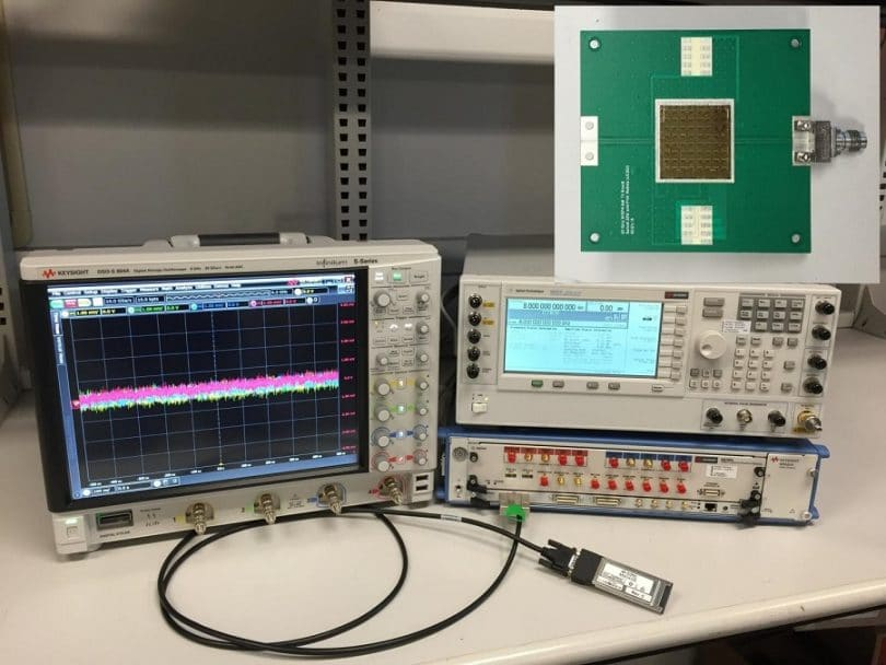 A frequency selective power meter for millimeter waves