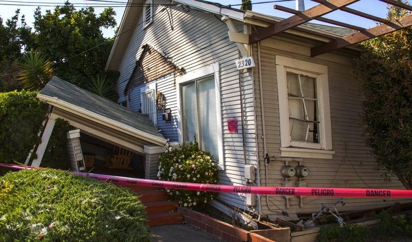Earthquake damage inspection