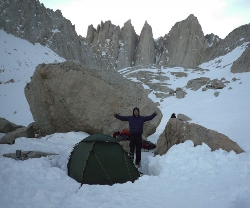 4-season tent option