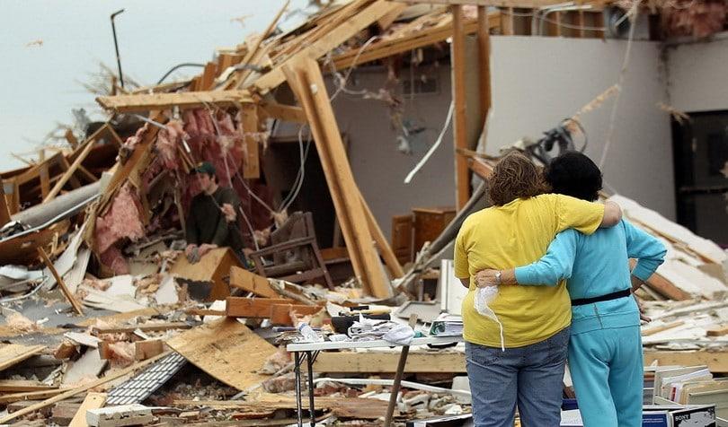 Damage after disaster