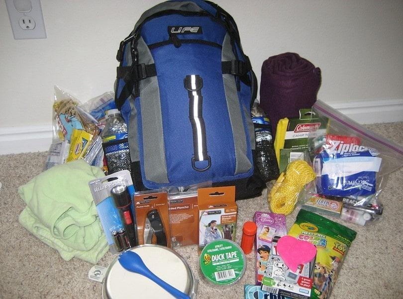 72h survival bag