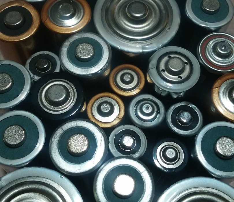 Batteries as energy sources