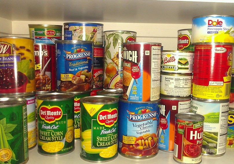 Canned Food Items Images