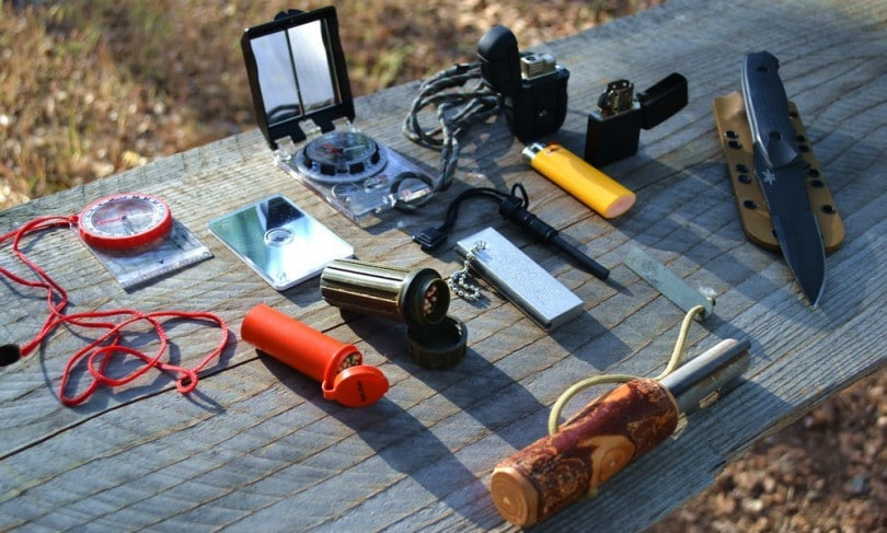 Survival items outdoor