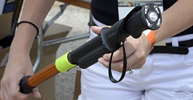 Hike N Strike - Stun Gun Flashlight Walking Stick