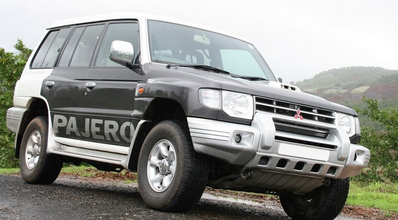 Mitsubishi Pajero with less electronics