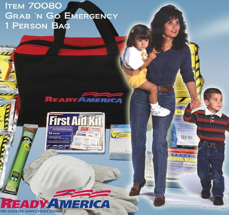 Ready America 70080 Emergency Kit