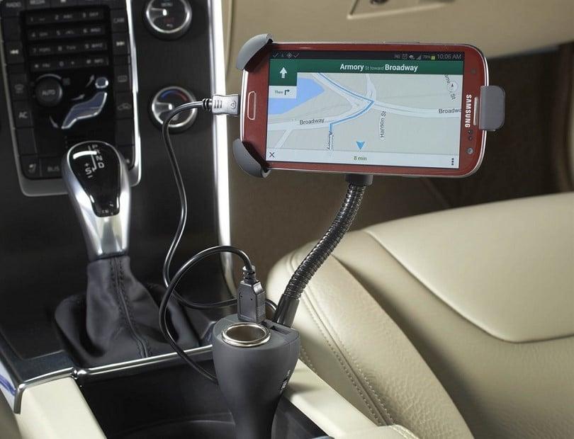 Smart AC automotive power strip