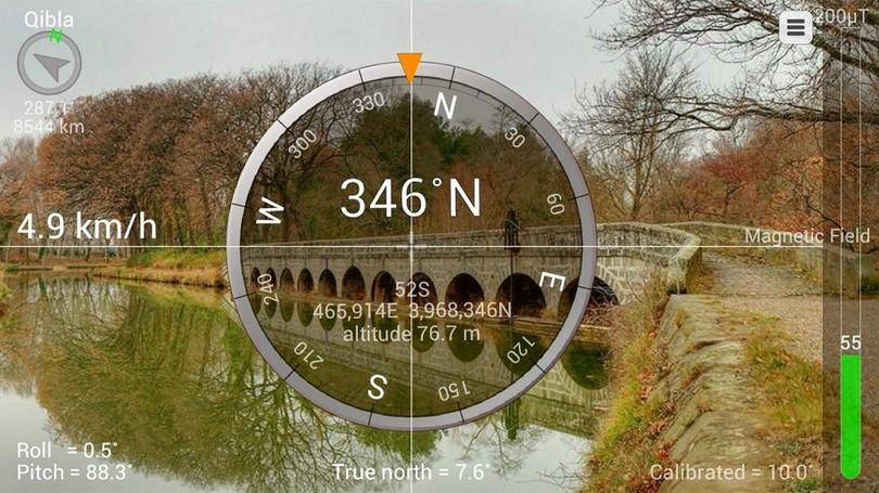 Smart compass app