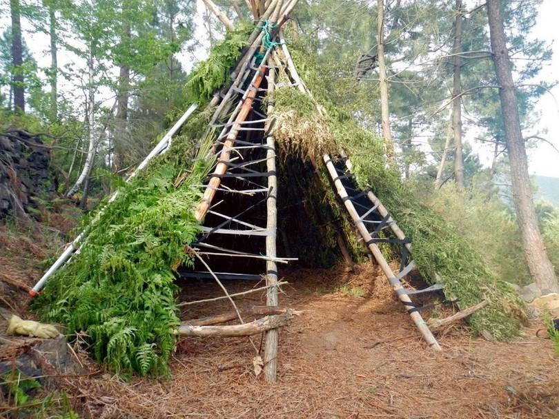 Tipis shelter