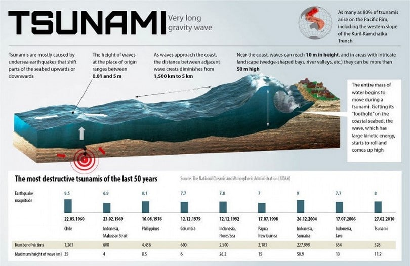 How to survive a tsunami important tips from exerts and for Where do you go in an earthquake