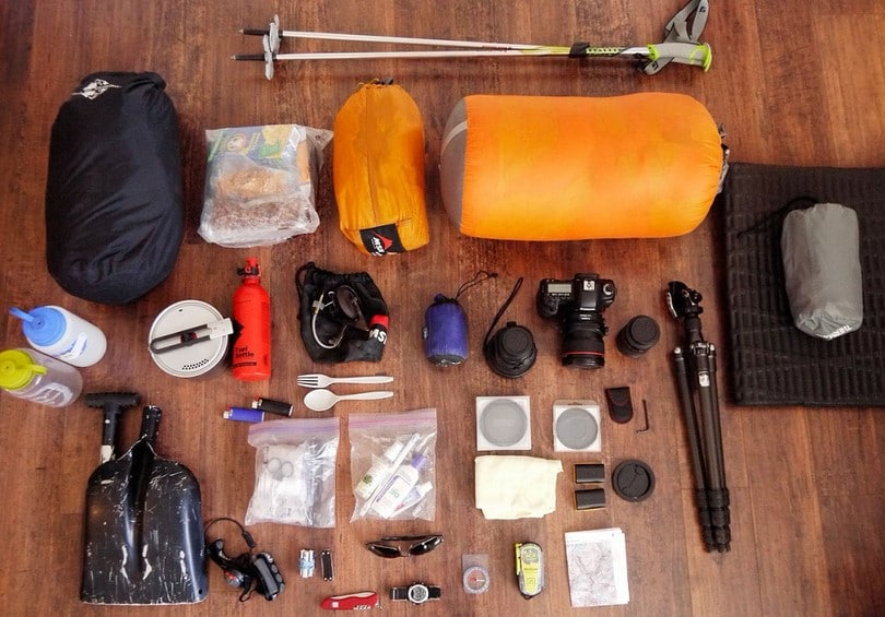backpacking gear camping