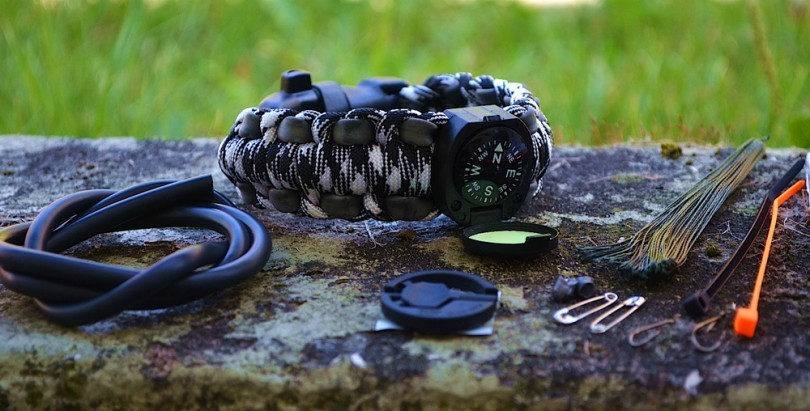 Paracord bracelet outdoor