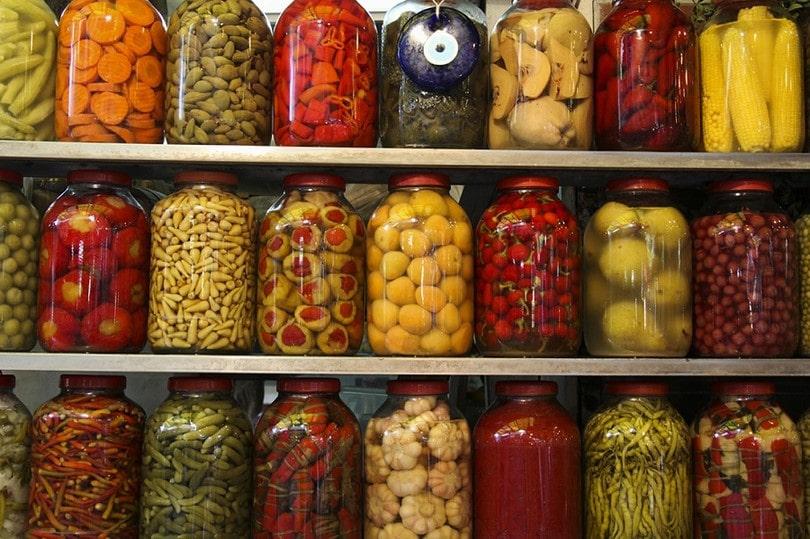 Food in storage