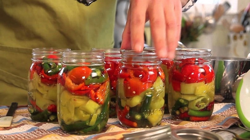 Canning at home