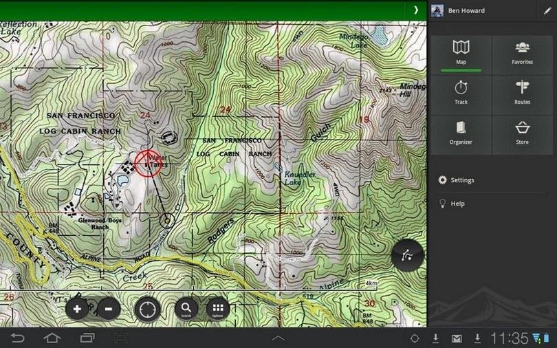 ViewRanger GPS