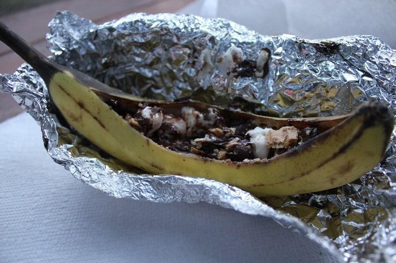 Choco banana recipe
