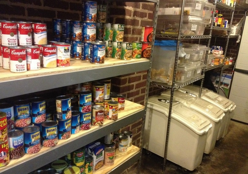Emergency nutrition storage