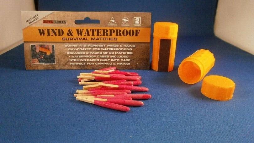 Fantastic Wind & Waterproof Survival Matches