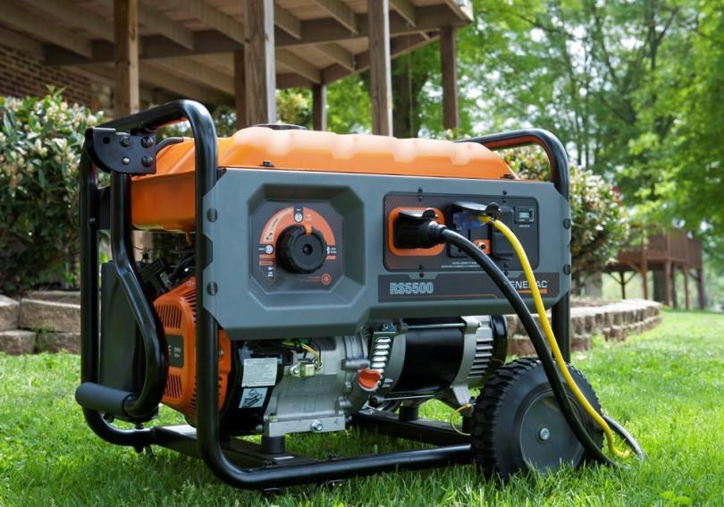 Generator for outdoor
