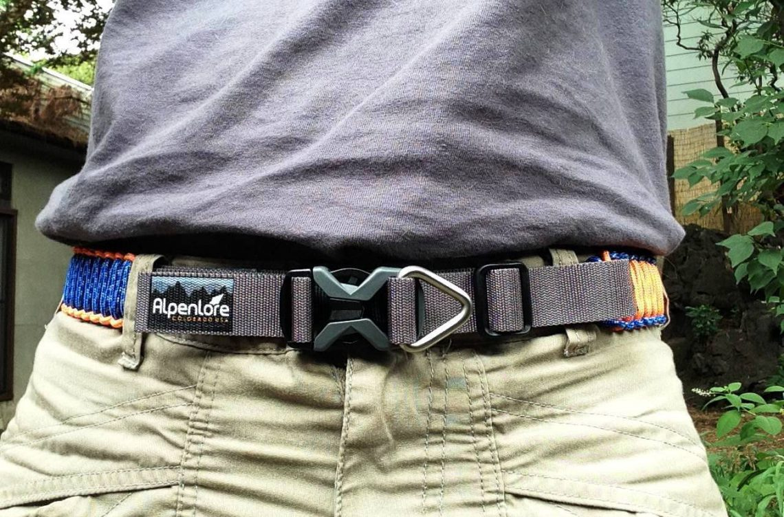 Paracord Survival Belt Survival Tool That Can Save Your Life