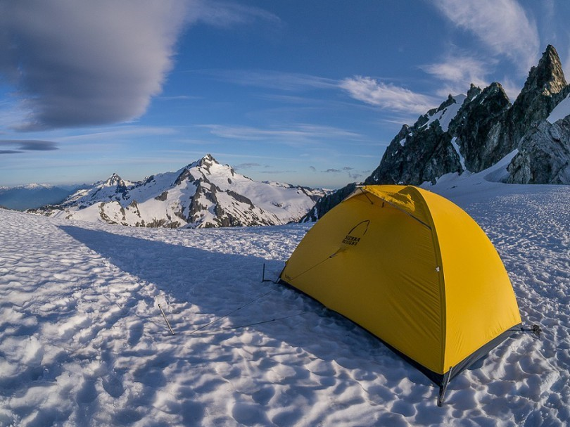 Tent for cold weather