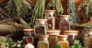 Vegetables dried storage
