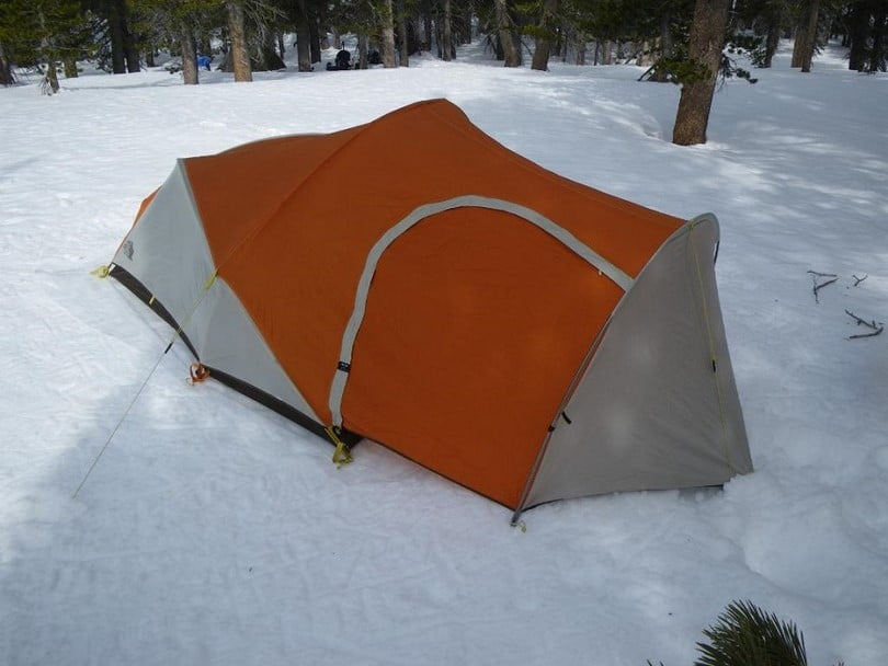 Vestibule on tent & Cold Weather Tents: Tips on Choosing The Best Tent For You