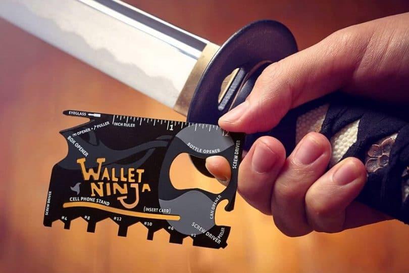 Wallet ninja 18 in 1 pocket tool