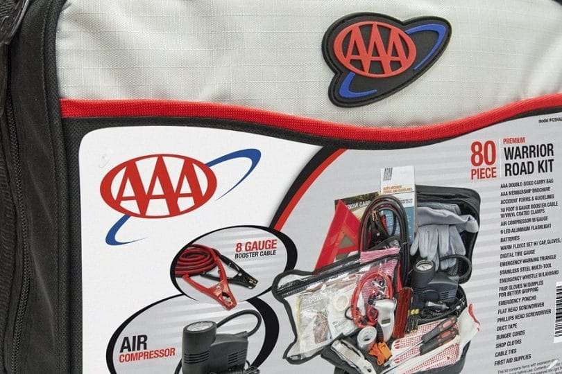AAA (4394AAA) 80-Piece Warrior Road Kit