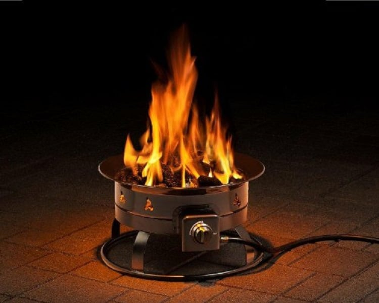 Heininger 5995 Propane outdoor fire pit