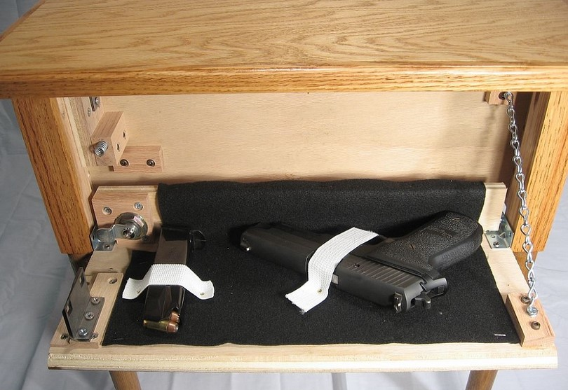 Hidden Gun Storage Ideas And Diy Projects