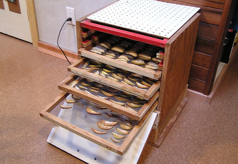 Homemade dehydrator