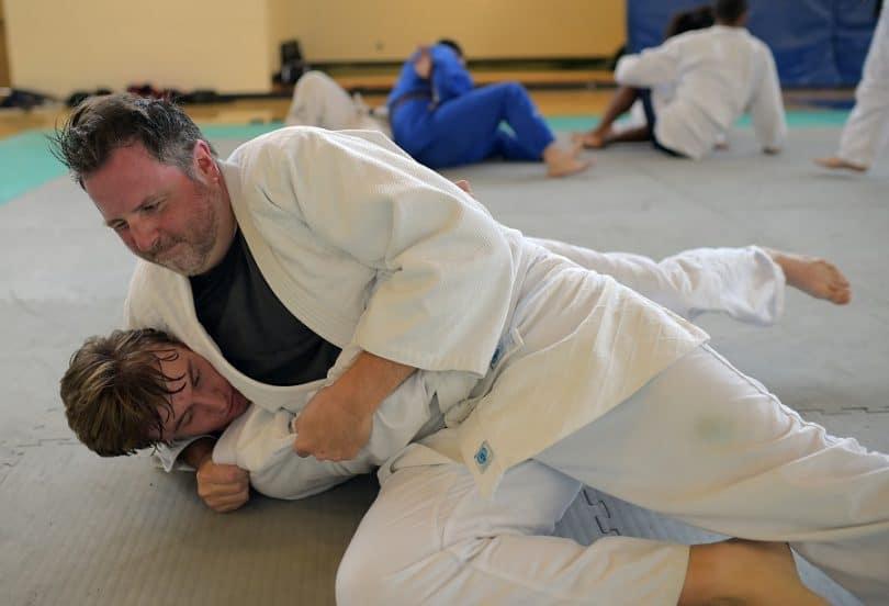 Judo self defense
