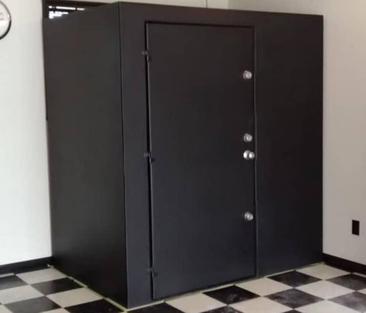 Securall fully welded shelter