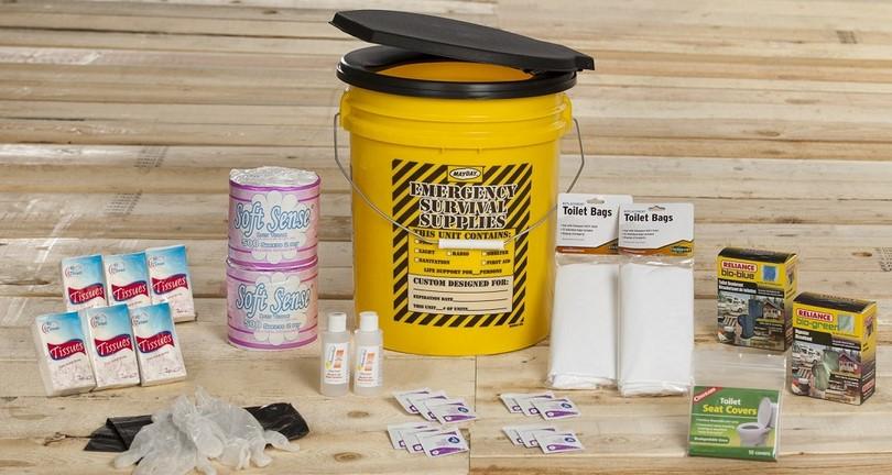 Survival supplies sanitary