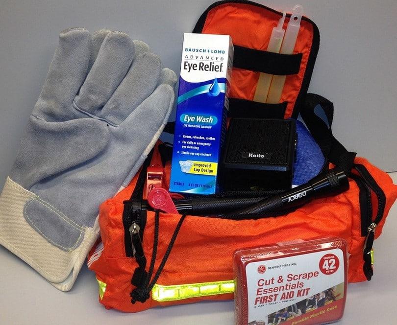 Tornado safety kit