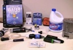Water purifiying kit