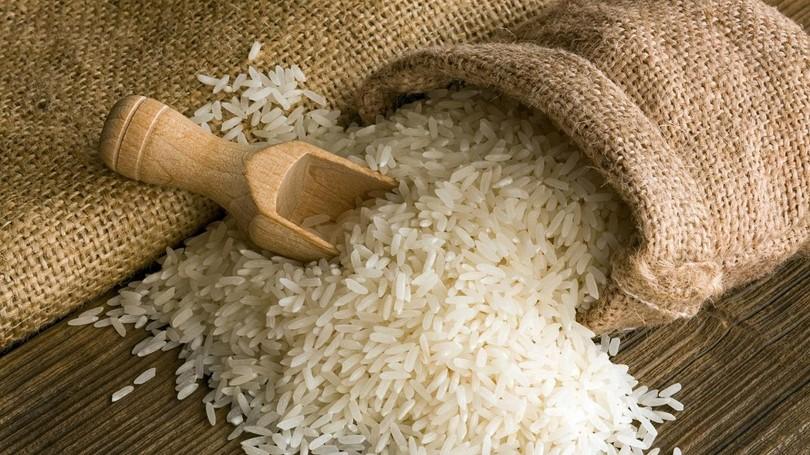 White rice long