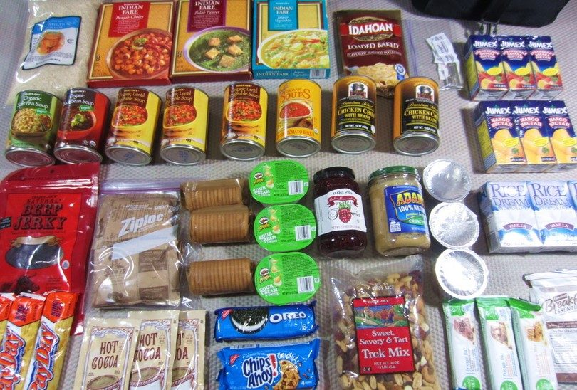 Best Food For Bug Out Bag