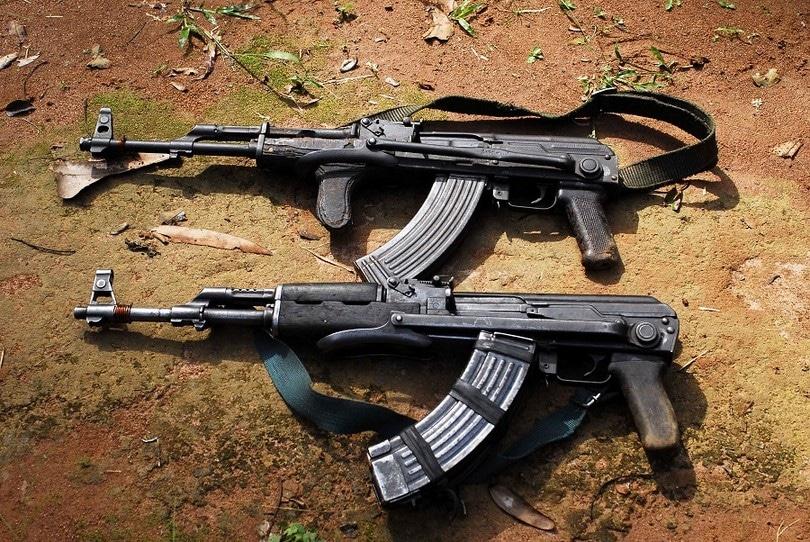 AK-47 rifles