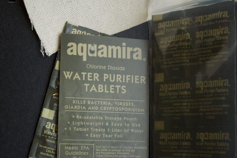 AquaMira Millitary tablets