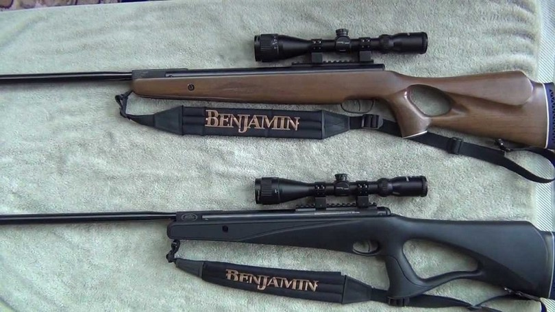 Benjamin Trail All Weather Break barrel air rifle