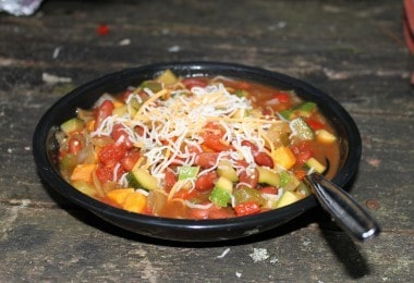 Camp Chili, veggie style