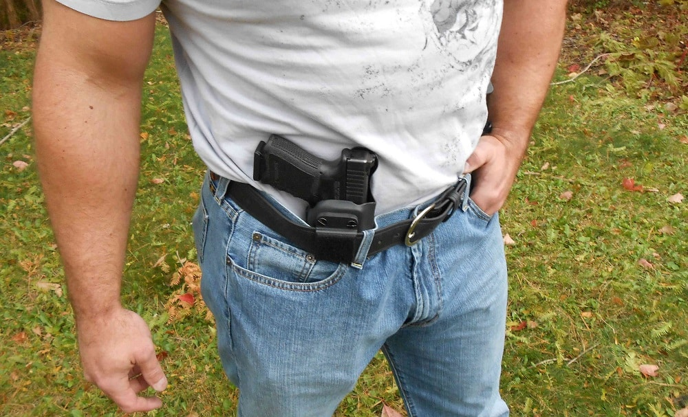 Cons for appendix holsters