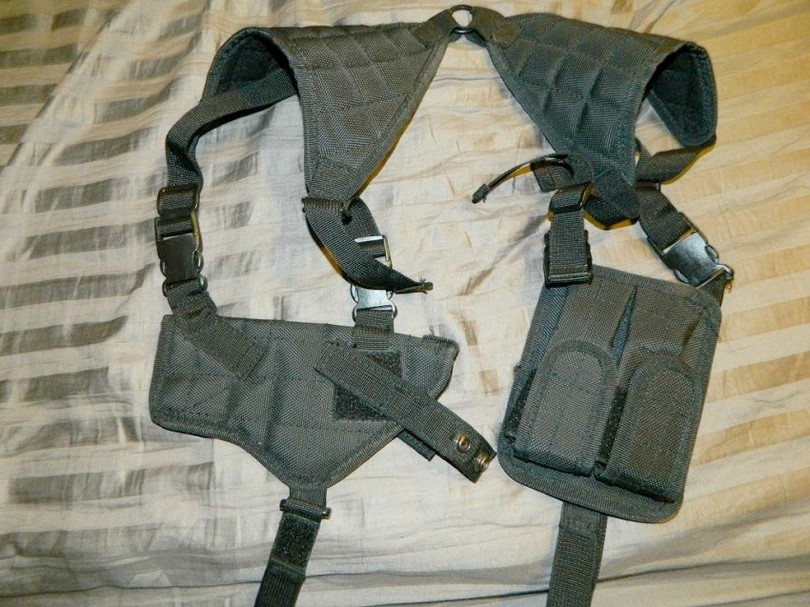 Crosman AirSoft shoulder holster