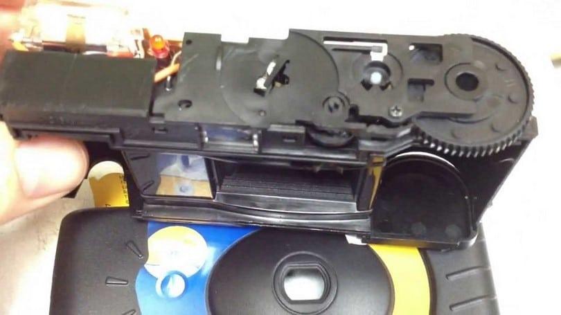 Disposable camera taser