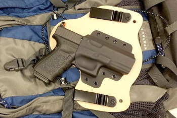 Everyday Holsters Glock 17, 22 And 31 Hybrid Holster IWB Right Hand