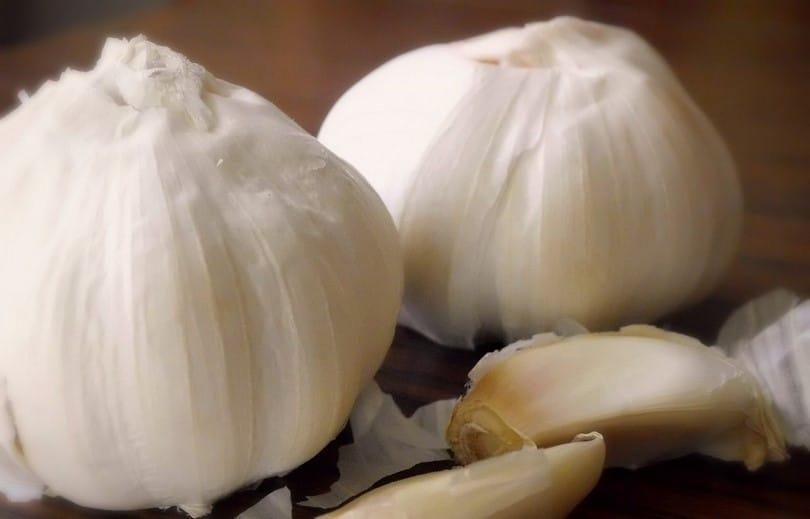 Garlic for ear