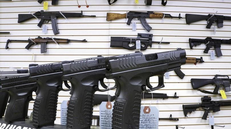 Home defense guns